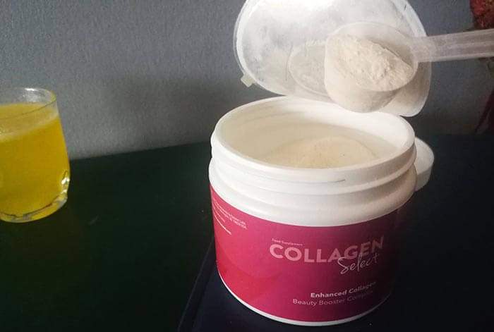 collagen select přísady