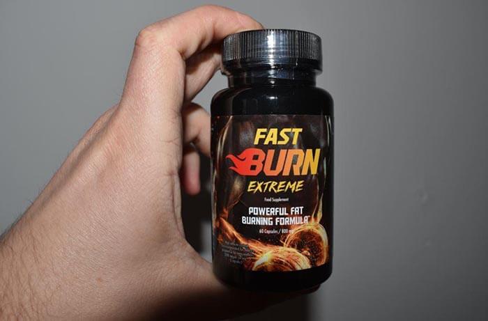 fast burn extreme přísady