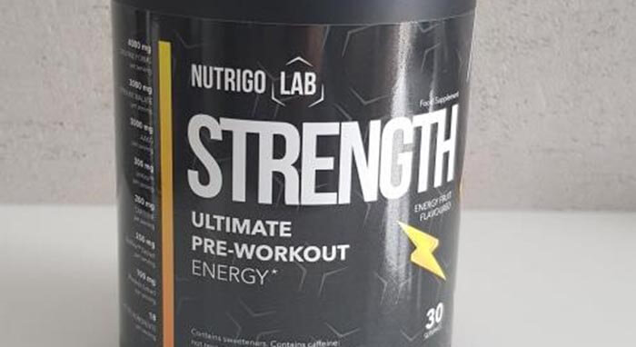 Co je Nutrigo Lab Strength