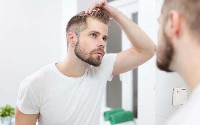 Nadměrná ztráta vlasů