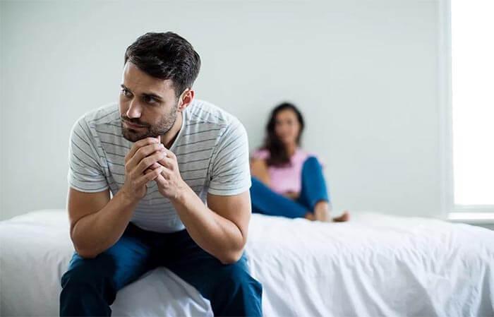 Nejčastější příčiny krize mužské potence