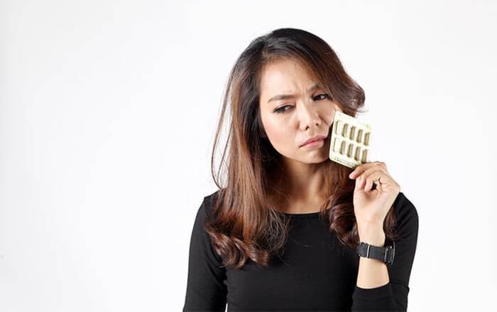 Tablety s přirozeným složením pro vypadávání vlasů